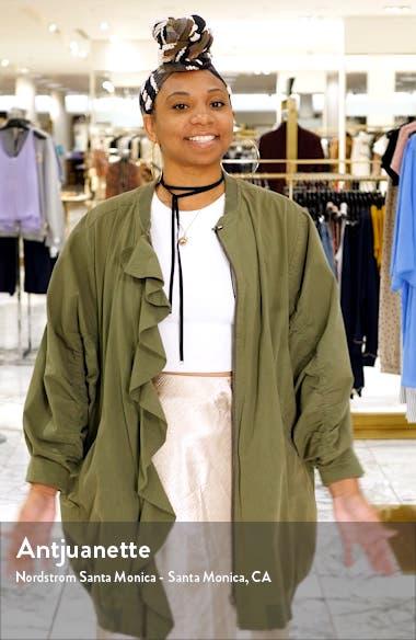 Zherra Leopard Print Cowl Neck Halter Dress, sales video thumbnail