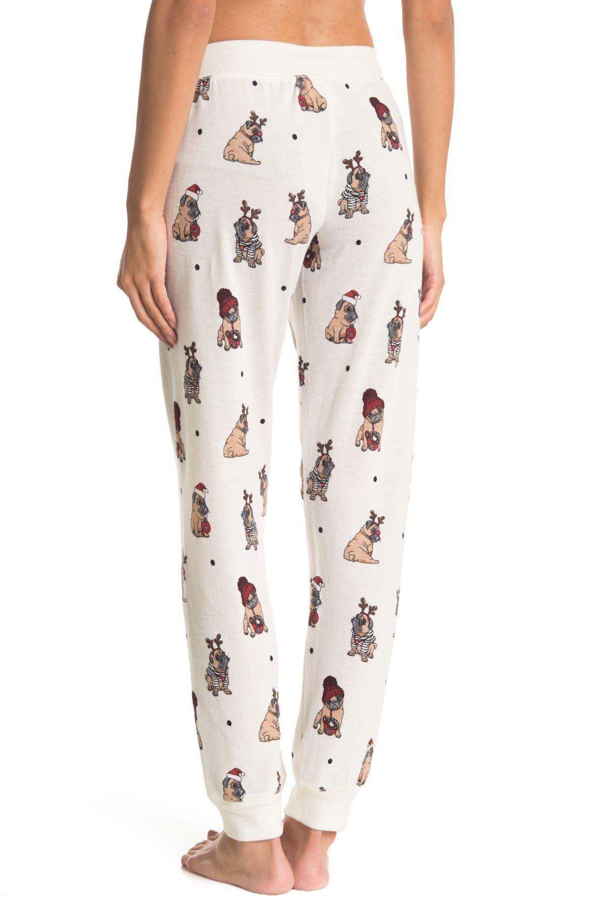 PJ SALVAGE Holiday Pajama Joggers
