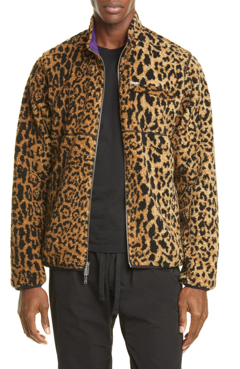 OVADIA & SONS Reversilbe Faux Shearling Jacket, Main, color, NATURAL