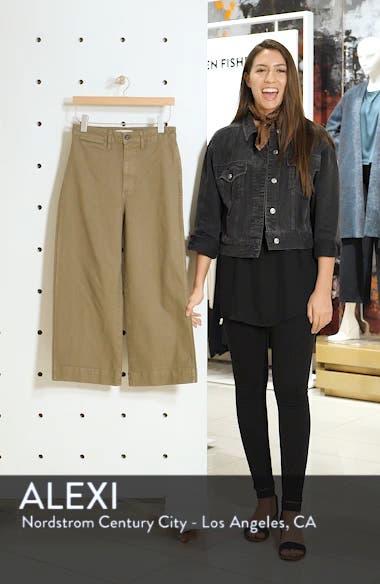 Emmett High Waist Crop Wide Leg Pants, sales video thumbnail
