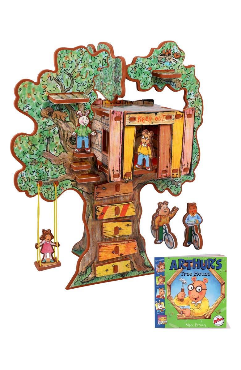STORYTIME 'Arthur's Tree House' Book & Play Set, Main, color, MULTI
