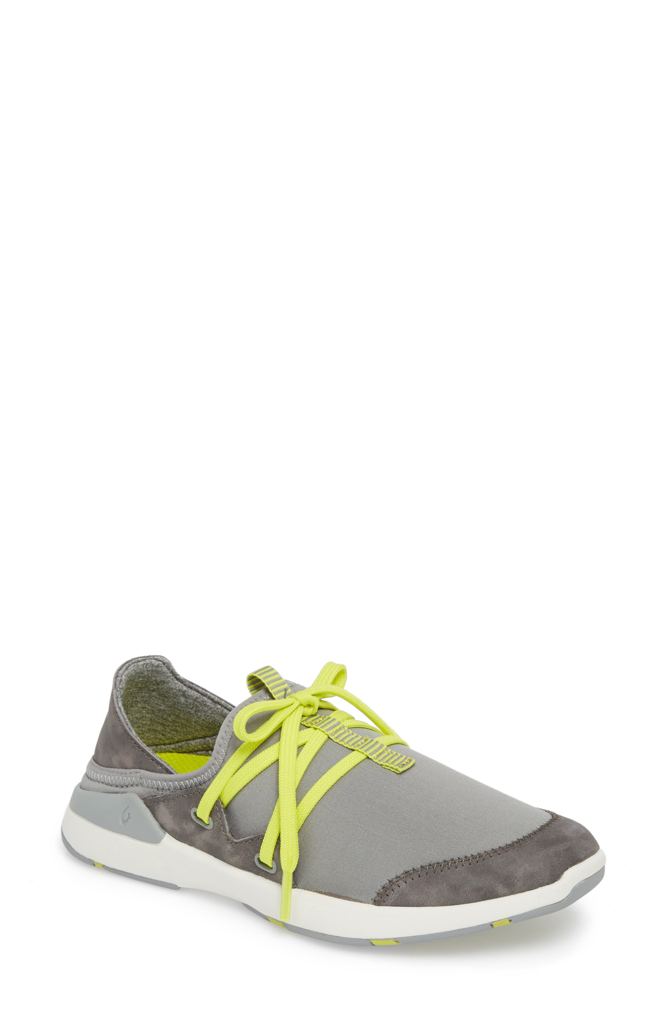 Olukai Miki Li Convertible Sneaker, Grey