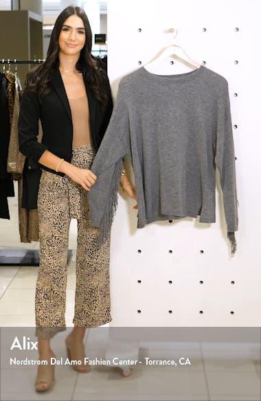 Fringe Sleeve Sweater, sales video thumbnail