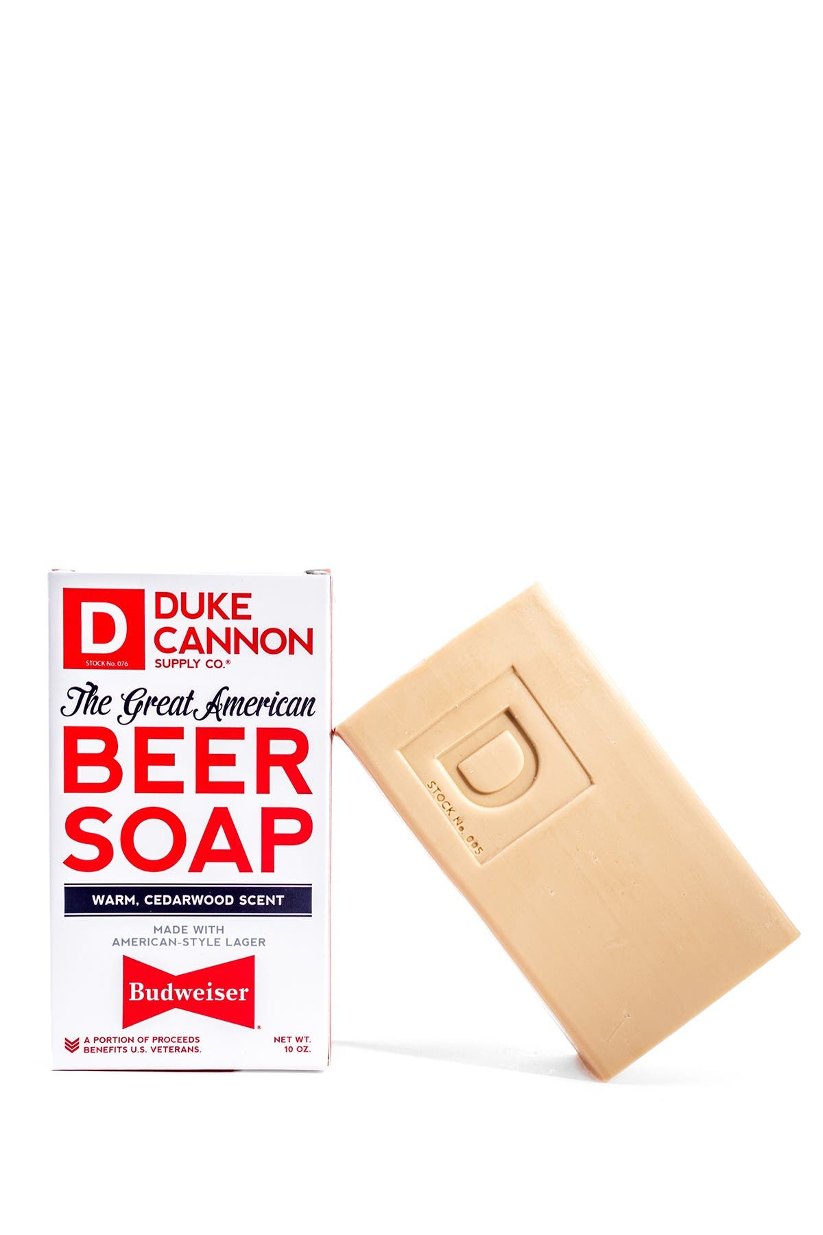 Image of DUKE CANNON Great American Beer Soap - Made with Budweiser