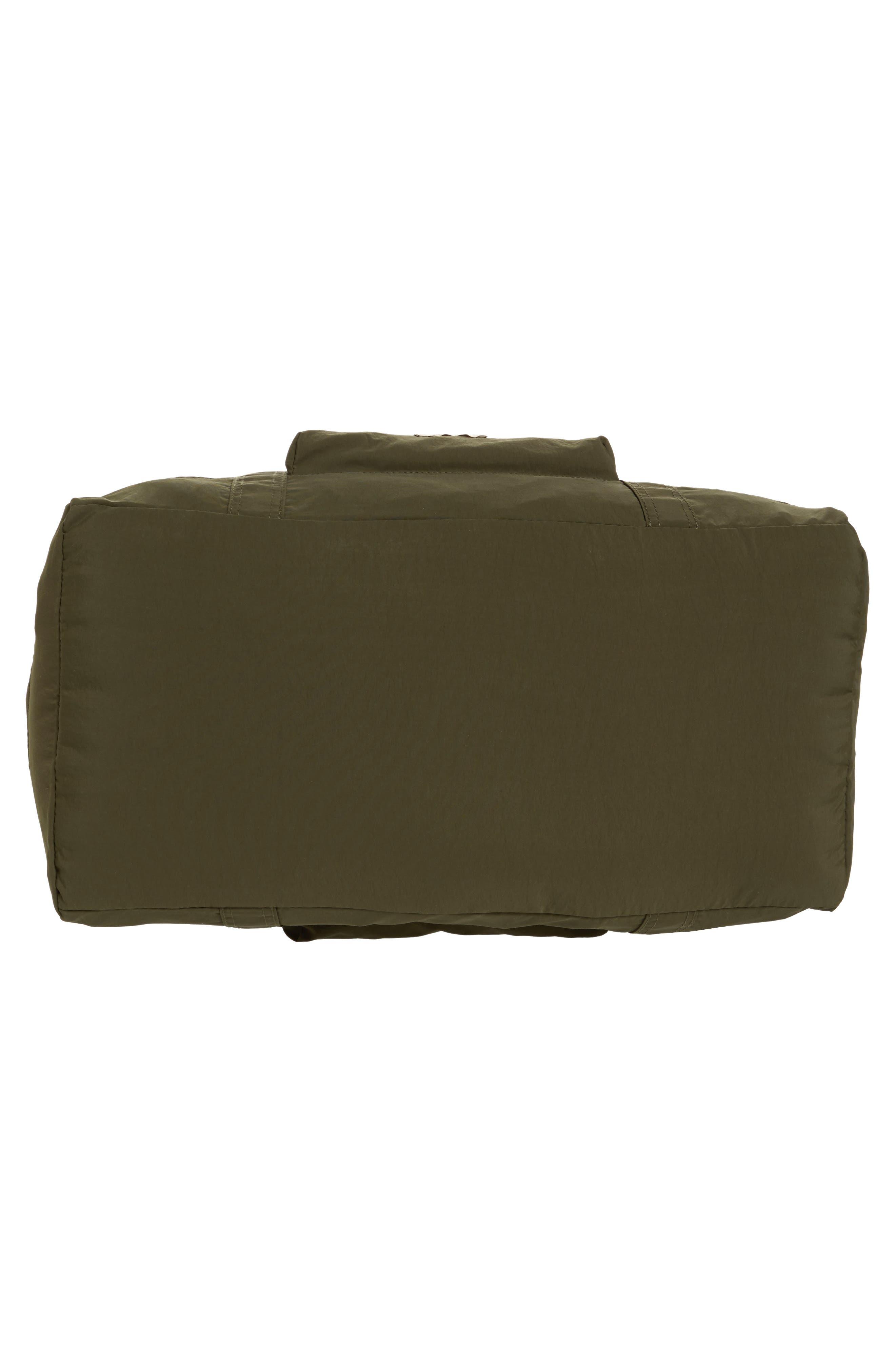 ,                             Banchory Packable Duffle Bag,                             Alternate thumbnail 6, color,                             DARK GREEN