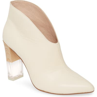 42 Gold Kisses Bootie, White