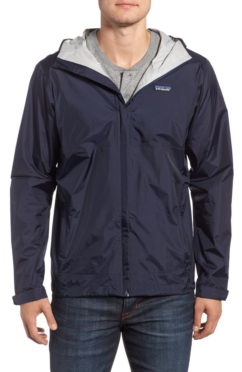 PATAGONIA Torrentshell Packable Rain Jacket, Main, color, NAVY