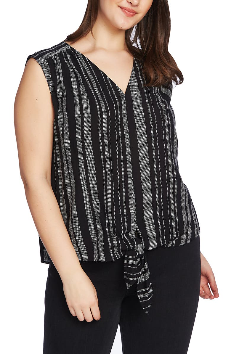 1.STATE Checker Grid Stripe Tie Front Top, Main, color, 001