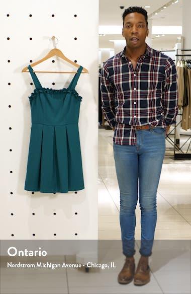 Ruffle Trim Sleeveless Minidress, sales video thumbnail