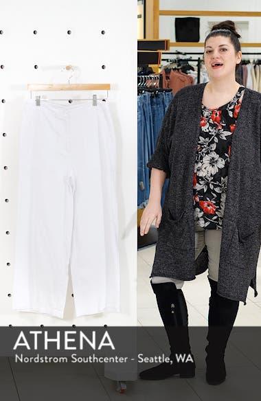 Organic Cotton Wide Leg Pants, sales video thumbnail