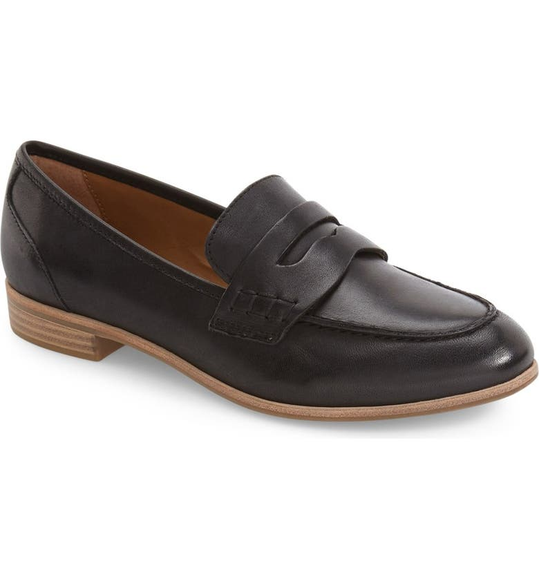 G.H. BASS & CO. Emilia Penny Loafer, Main, color, 001