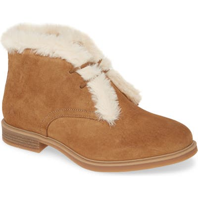 Hush Puppies Bailey Faux Fur Lined Chukka Boot