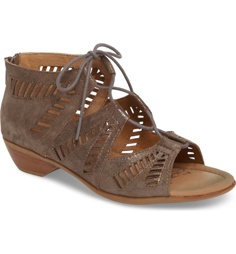 COMFORTIVA Riley Ghillie Sandal, Main, color, 027