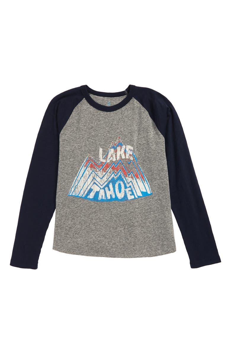 CREWCUTS BY J.CREW Lake Tahoe Baseball T-Shirt, Main, color, 022