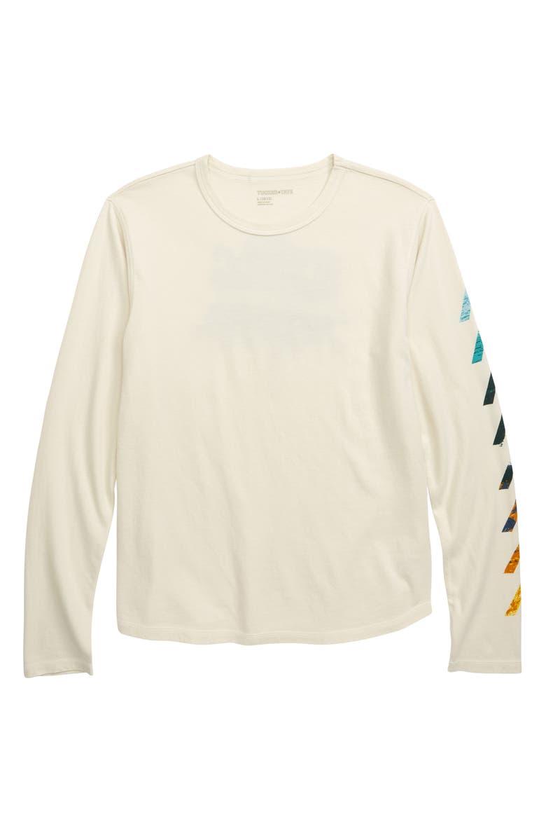 TUCKER + TATE Trek Star Graphic T-Shirt, Main, color, IVORY DOVE TREE HUGGER