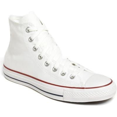 Converse Chuck Taylor All Star High Top Sneaker, White