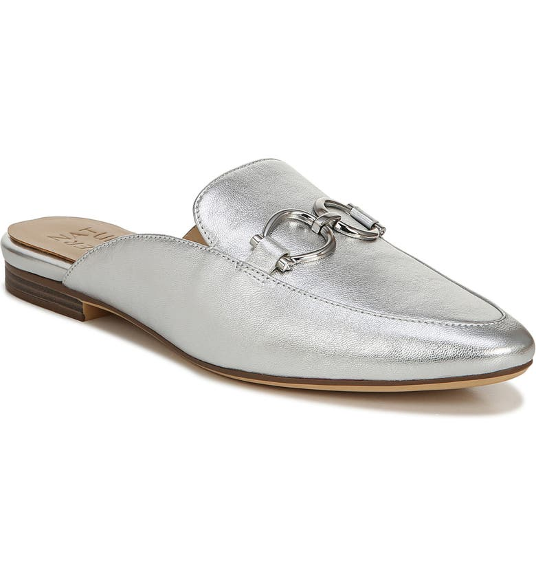 NATURALIZER Leanna Mule, Main, color, SILVER LEATHER