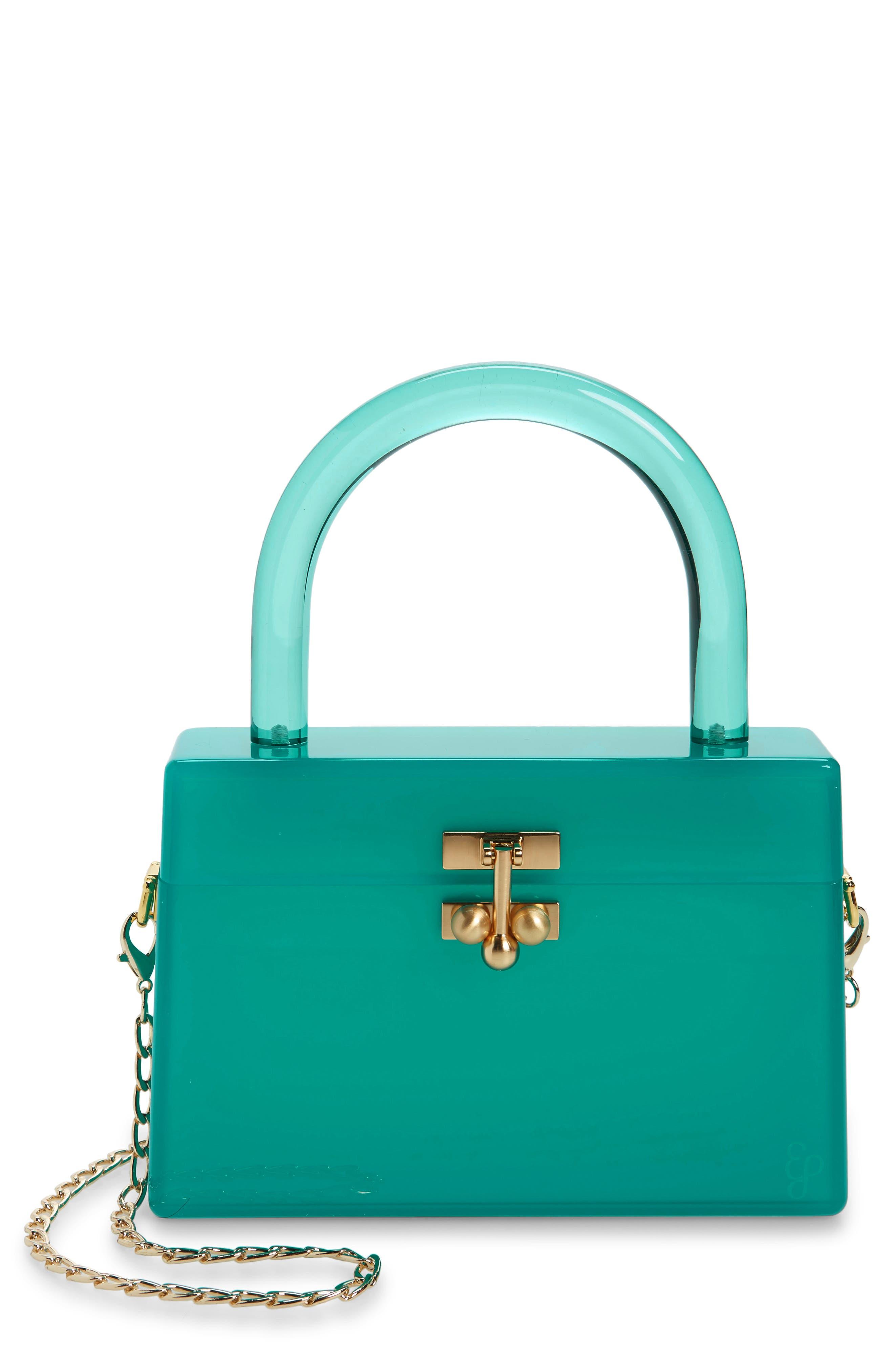 Miss Mini Acrylic Box Bag