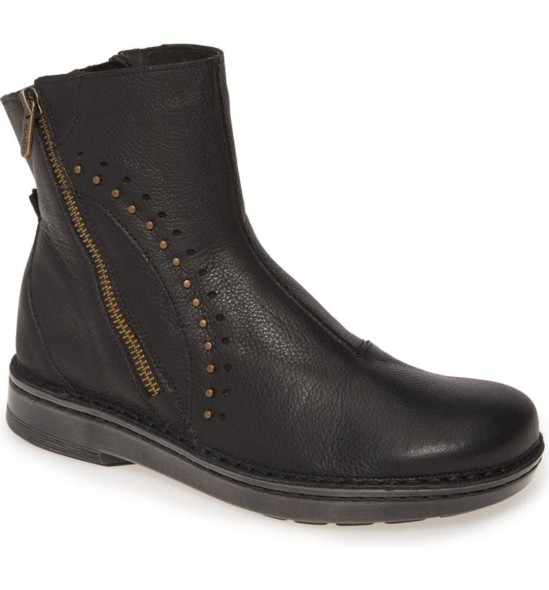 NAOT Cetona Boot, Main, color, SOFT BLACK LEATHER