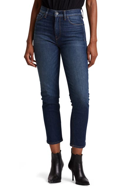 Image of HUDSON Jeans Holly High Rise Crop Straight Jeans