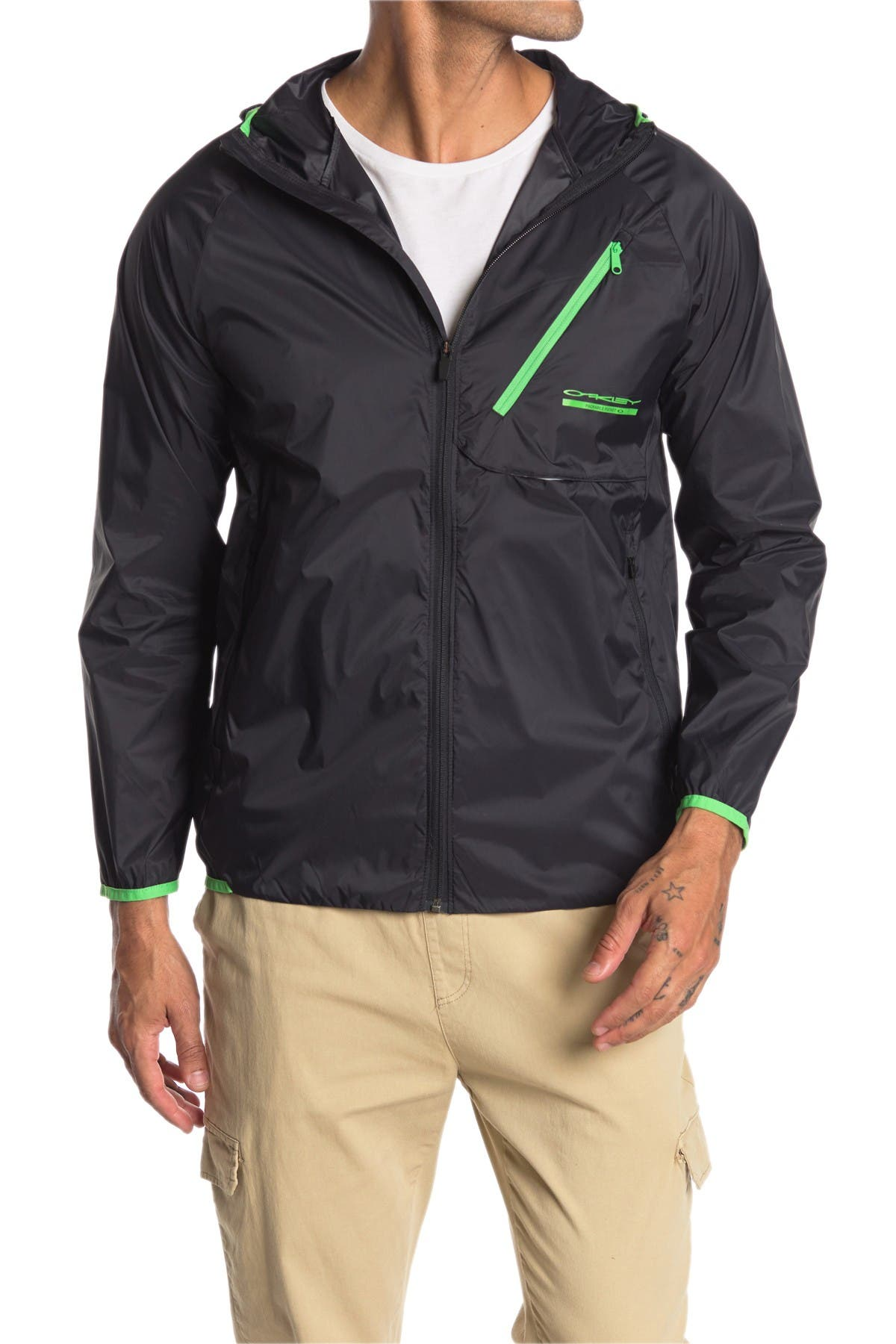 Image of Oakley Packable Hooded Jacket