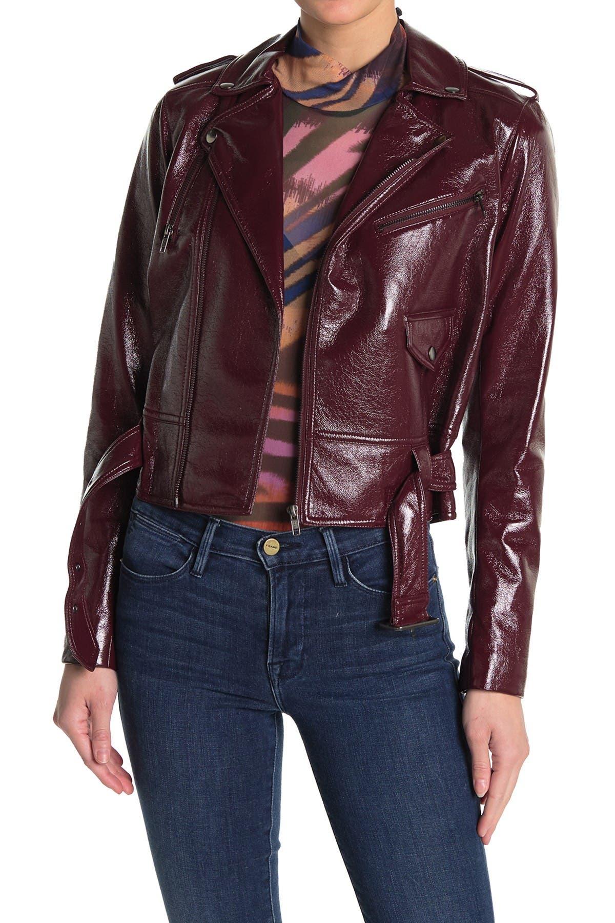 Image of Parker Cooper Faux Leather Jacket