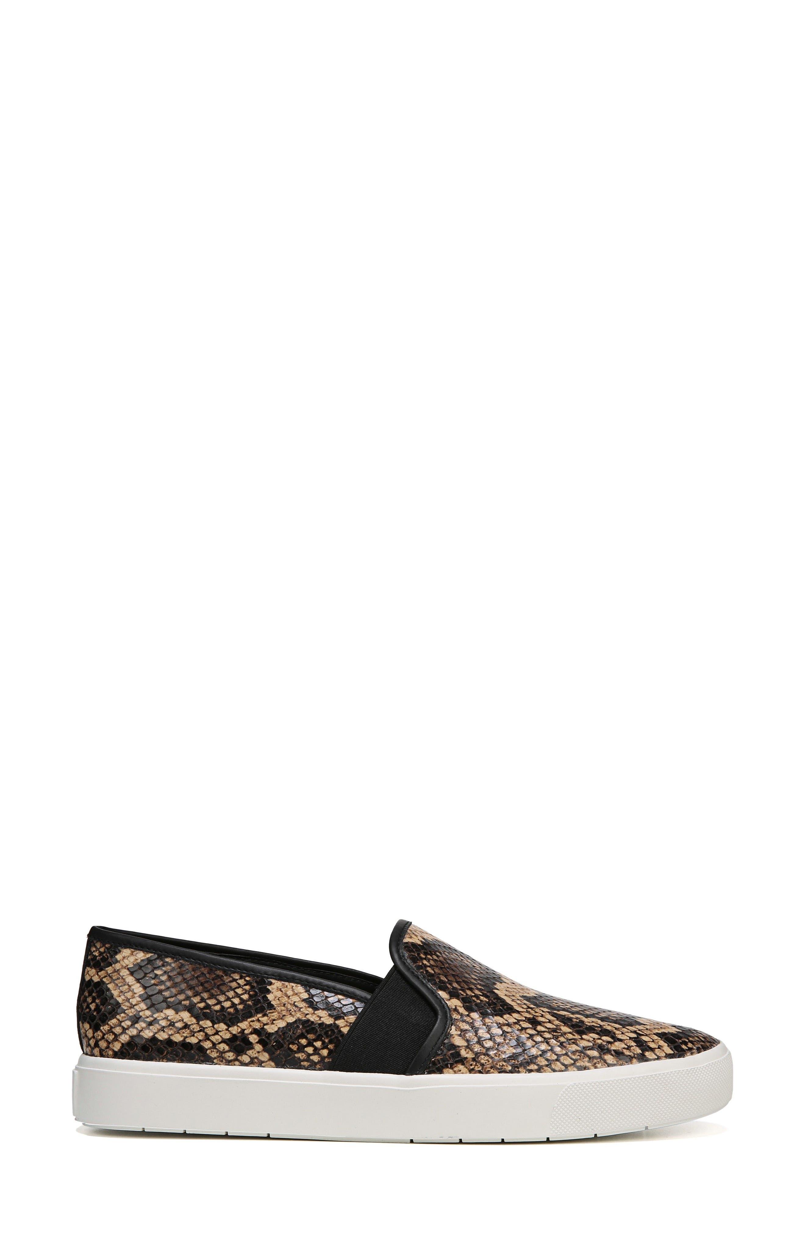 ,                             Blair 5 Slip-On Sneaker,                             Alternate thumbnail 3, color,                             SENEGAL SNAKE PRINT