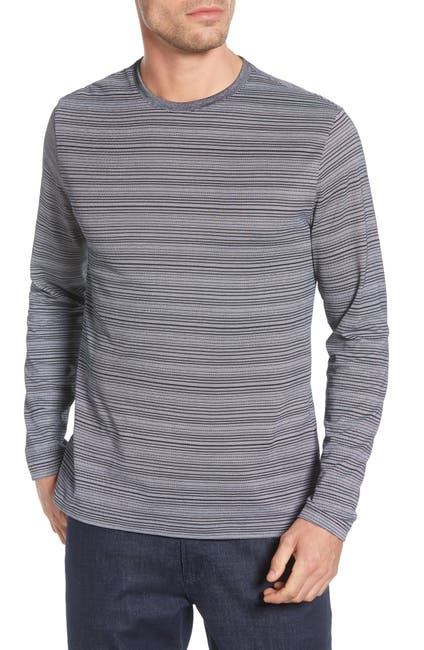 Image of ROBERT BARAKETT Darnley Long Sleeve Crewneck T-Shirt