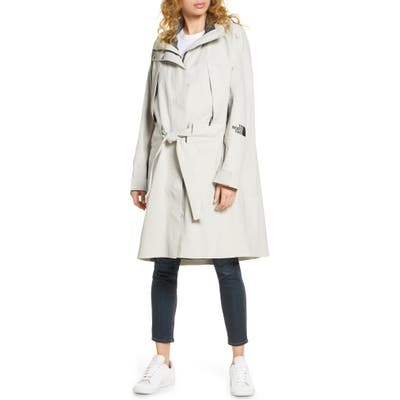The North Face Futurelight(TM) 3L Hooded Trench Coat, Grey