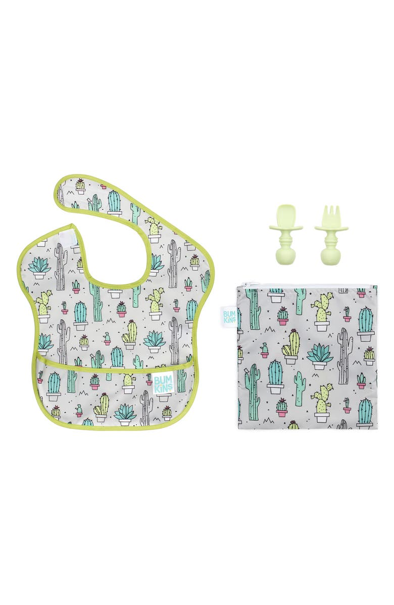 BUMKINS The Littles Who Lunch - Cactus Bundle, Main, color, 330