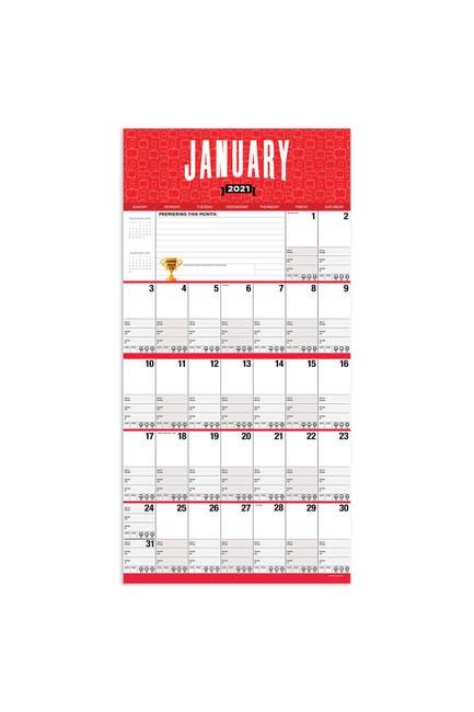 Image of TF Publishing 2021 Binge Worthy Wall Calendar