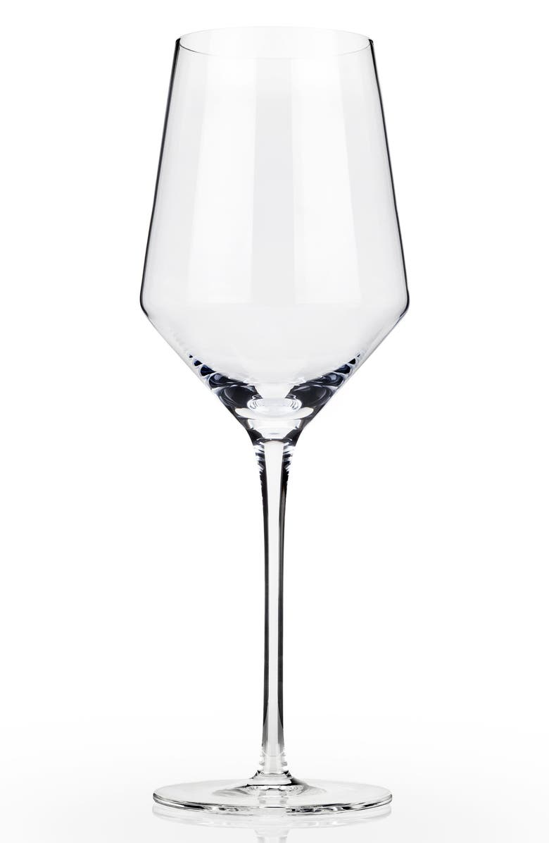 VISKI Raye Set of 2 Chardonnay Glasses, Main, color, 100