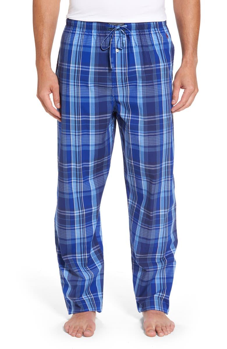 POLO RALPH LAUREN Cotton Lounge Pants, Main, color, 406