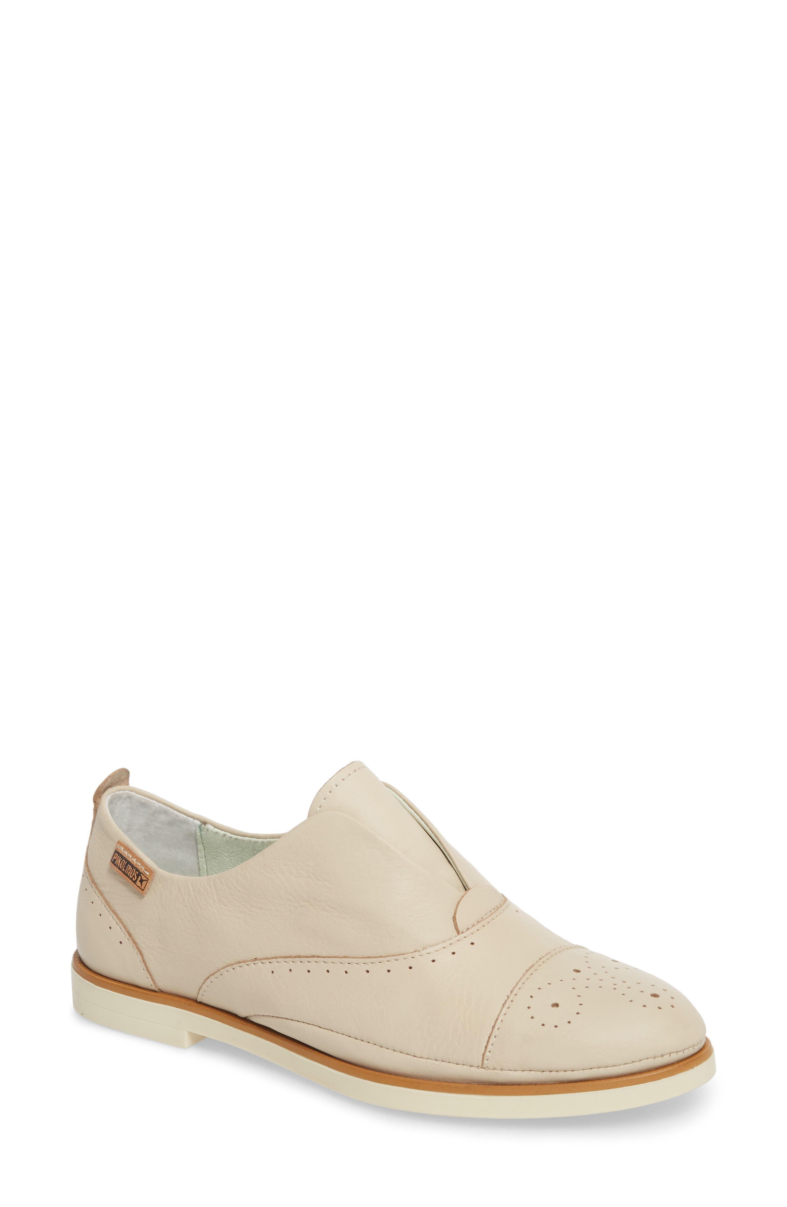Pyrgos Oxford, Main, color, MARFIL LEATHER