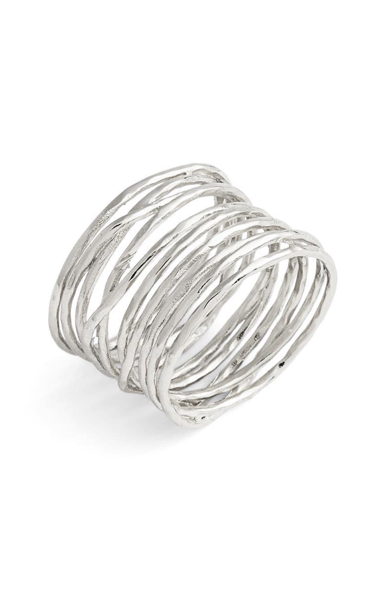 GORJANA Lola Coil Ring, Main, color, 041