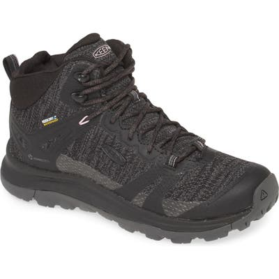 Keen Terradora Ii Waterproof Winter Hiking Boot- Black