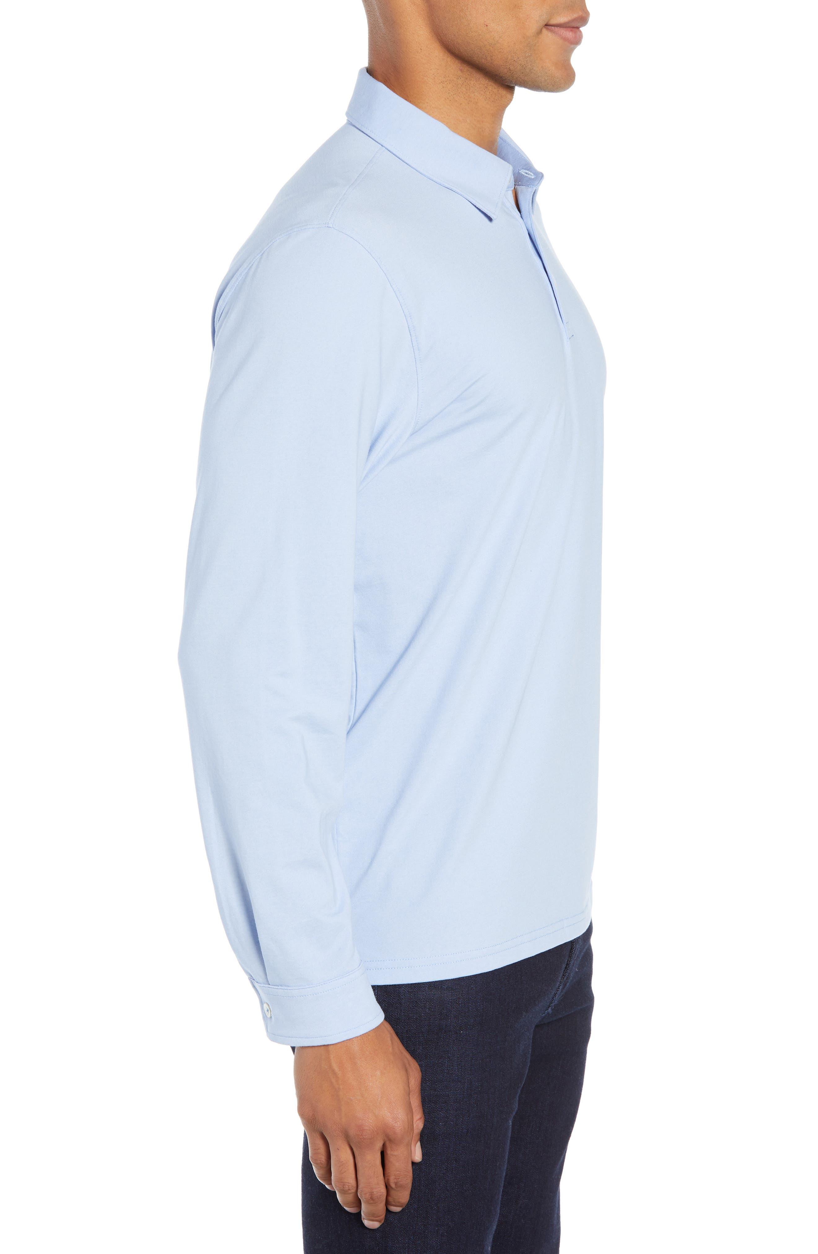 ,                             Benton Long Sleeve Polo,                             Alternate thumbnail 15, color,                             450