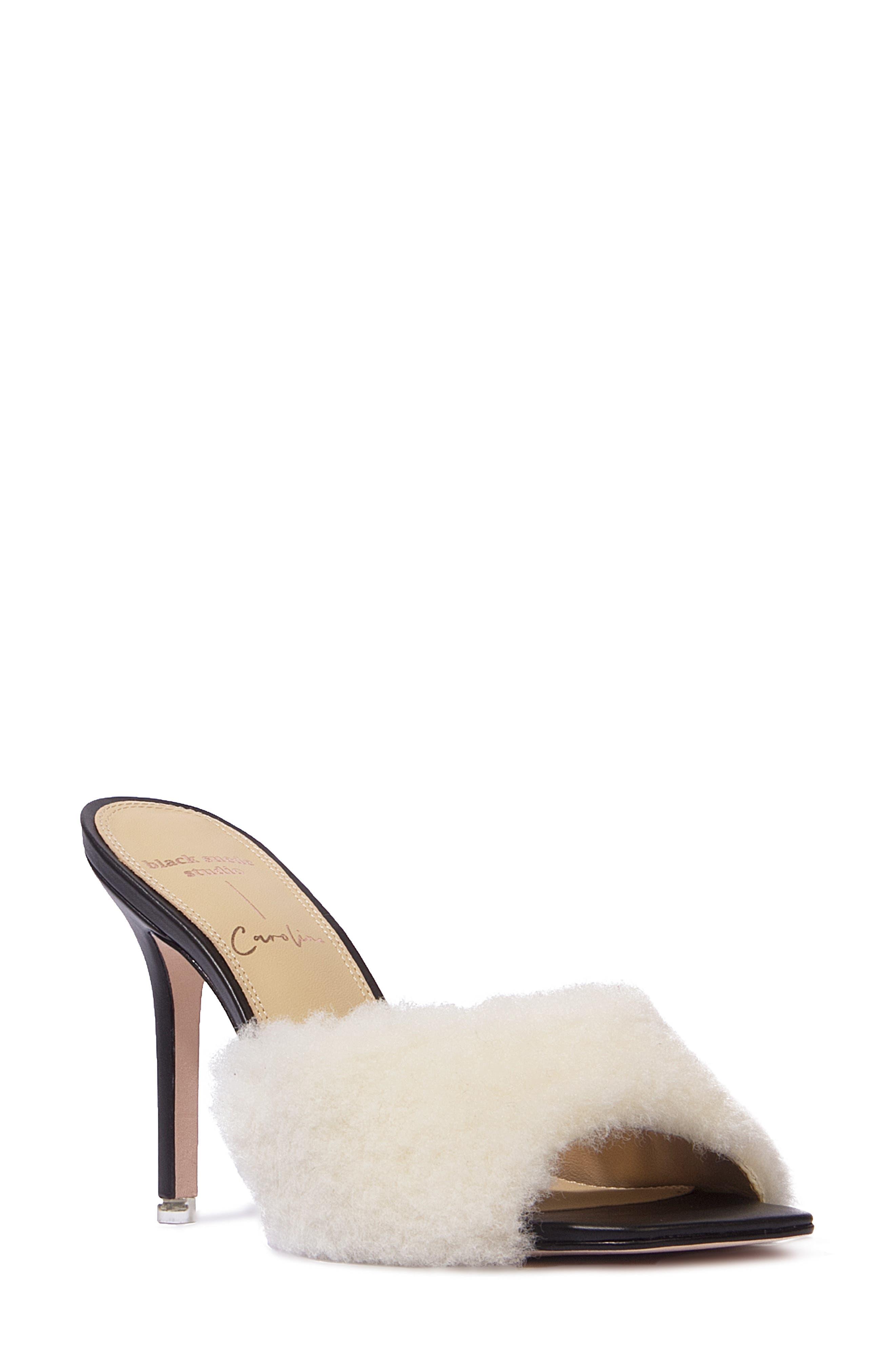 Macca Genuine Shearling Sandal