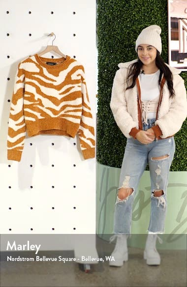 A Wild Winter Chenille Sweater, sales video thumbnail