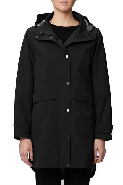 Image of Rainforest Soft Shell Hooded Rain Parka Jacket