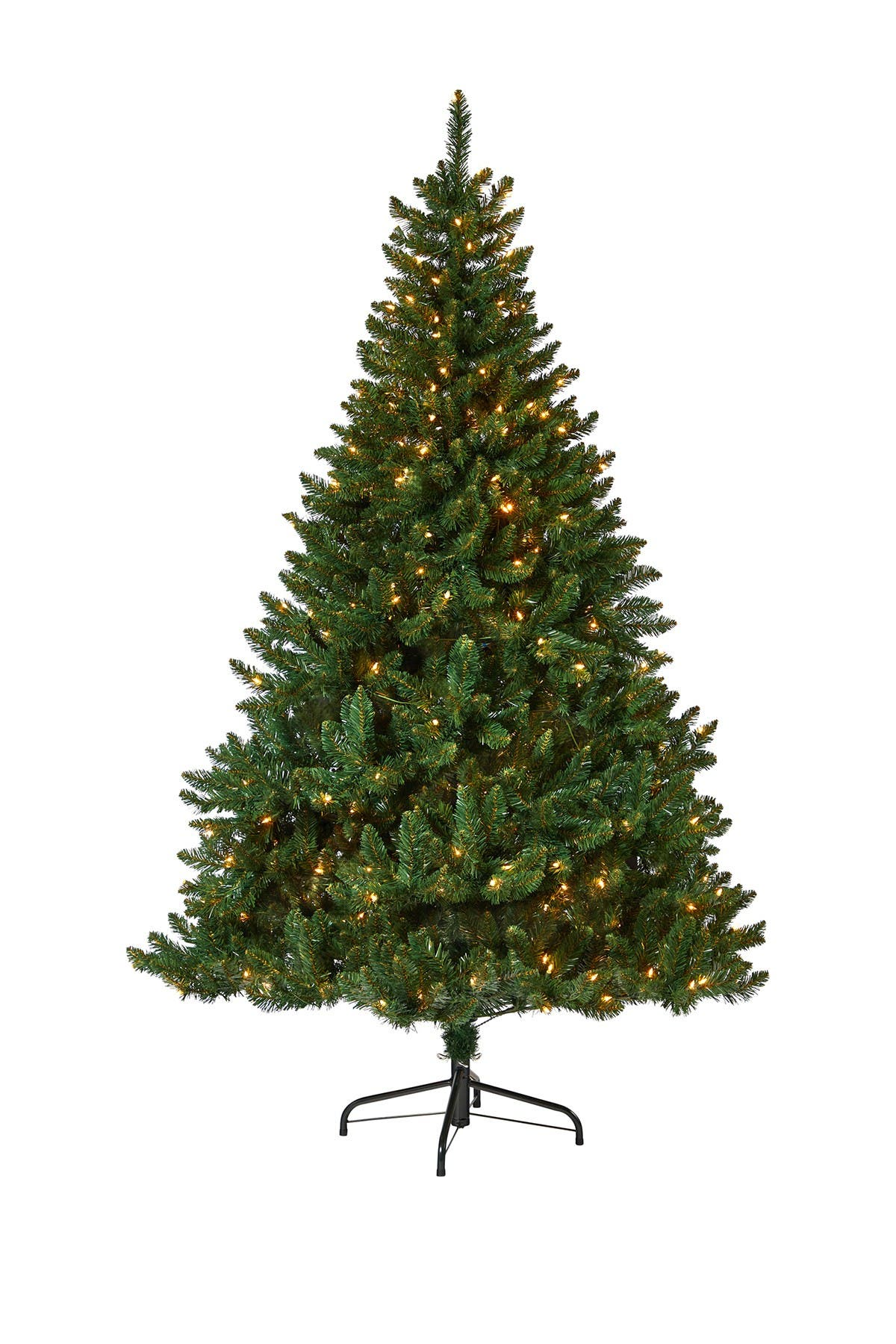 Image of NEARLY NATURAL 7ft. Northern Rocky Spruce Artificial Christmas Tree with 400 Clear Lights