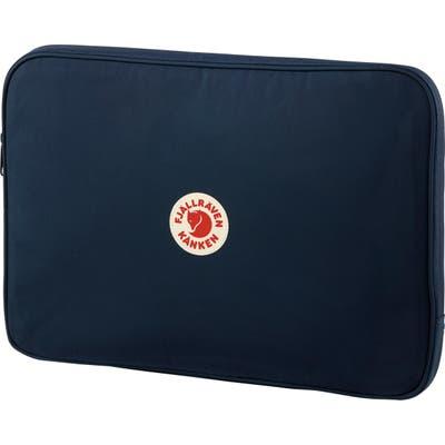 Fjallraven Kanken 15-Inch Laptop Case - Blue