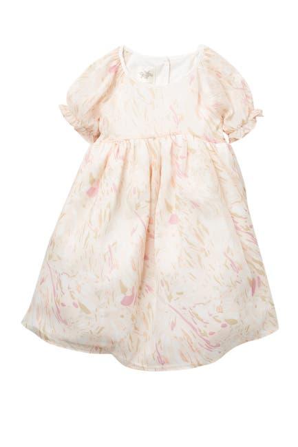 Image of Laura Ashley Jacquard Chiffon Dress