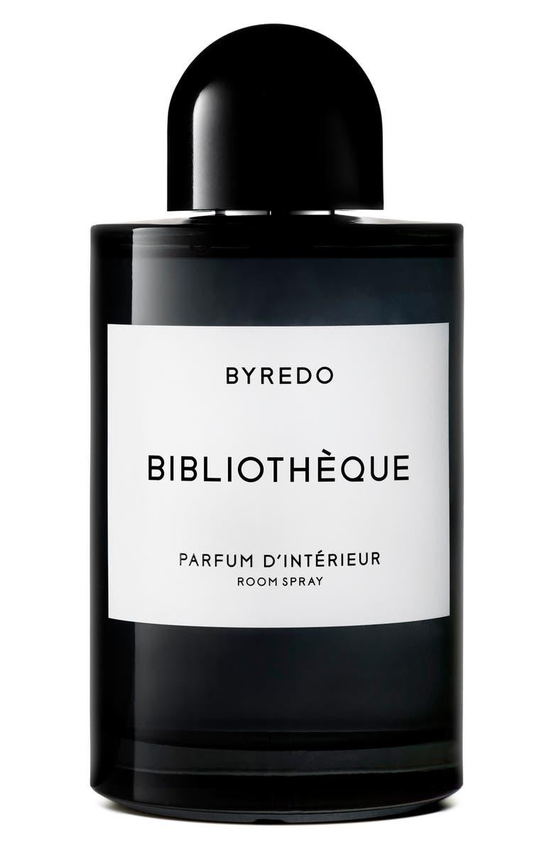 BYREDO Bibliotheque Room Spray, Main, color, NO COLOR