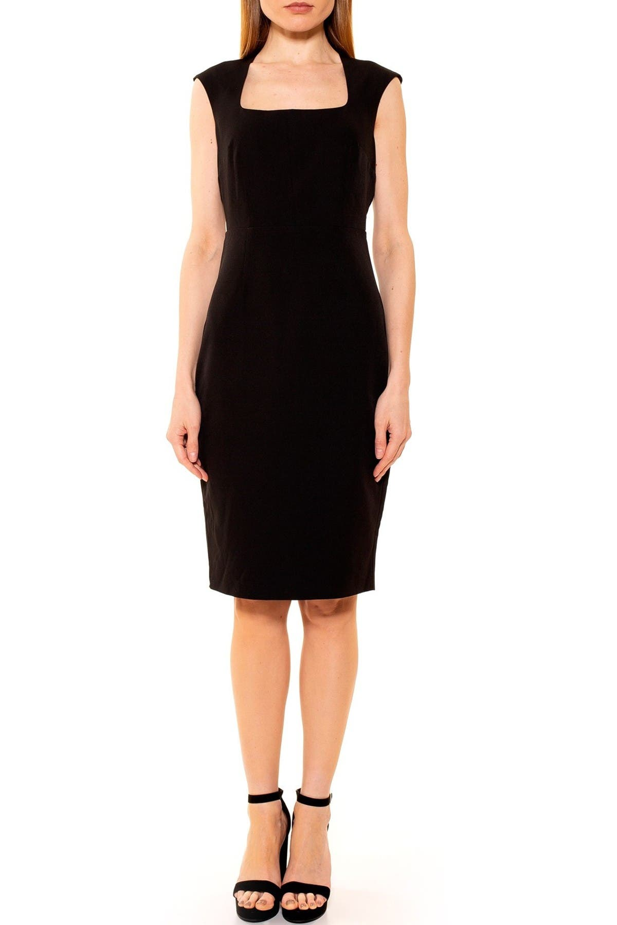 Image of Alexia Admor Ariana Scoop Neck Sheath Dress