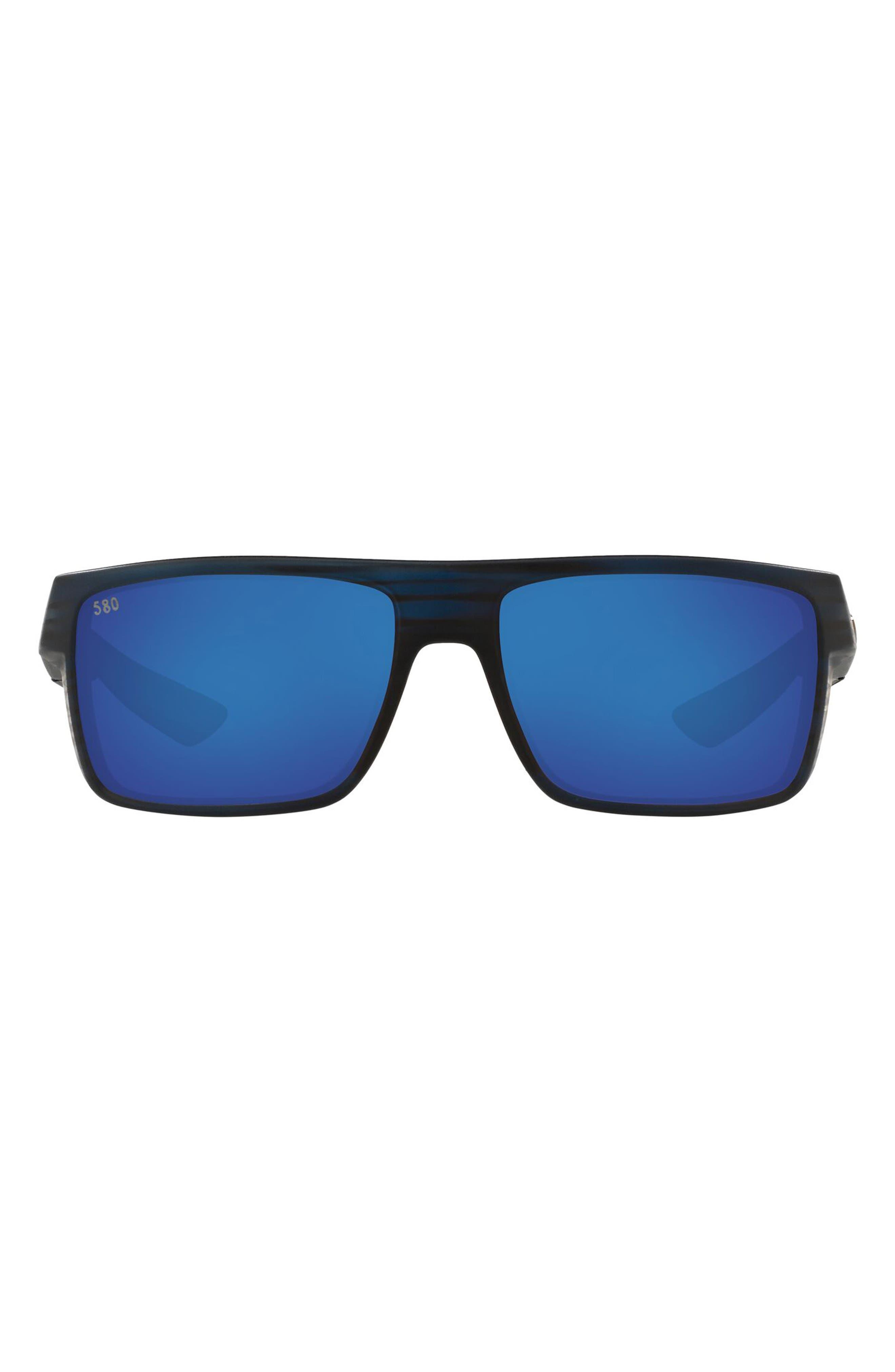 58mm Polarized Square Sunglasses