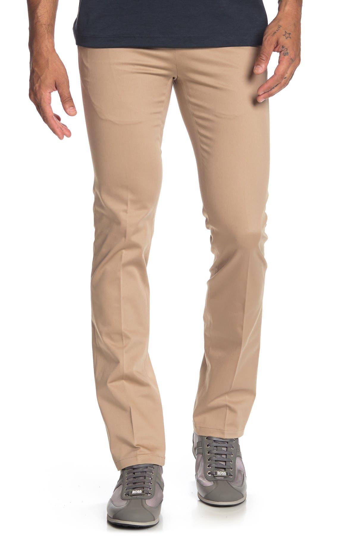 Image of John Varvatos Star USA Regular Fit Tapered Bottom Chino Pants