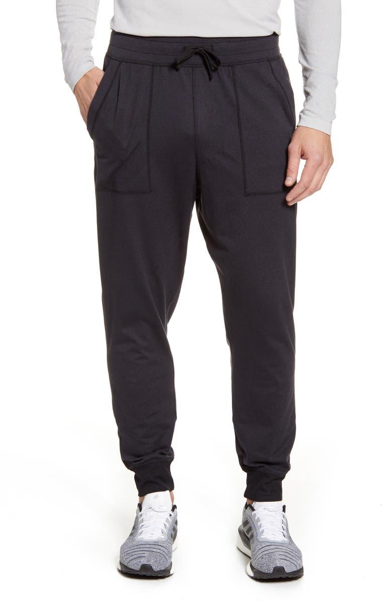 ZELLA Zellness Jogger Pants, Main, color, BLACK