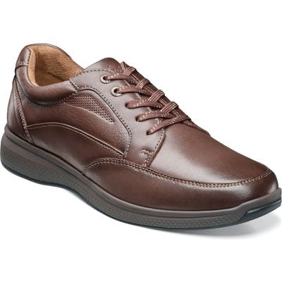 Florsheim Great Lakes Moc Toe Walking Derby EEE - Brown