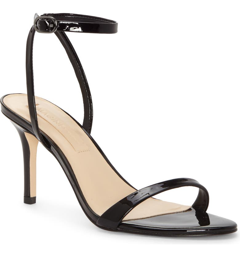IMAGINE BY VINCE CAMUTO Rayan Ankle Strap Sandal, Main, color, BLACK PATENT LEATHER